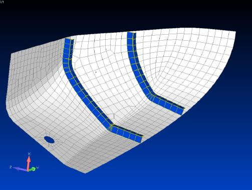 femap, nastran, Интерактивное внесение новых элементов в КЭ-модель в Siemens Femap 11.3