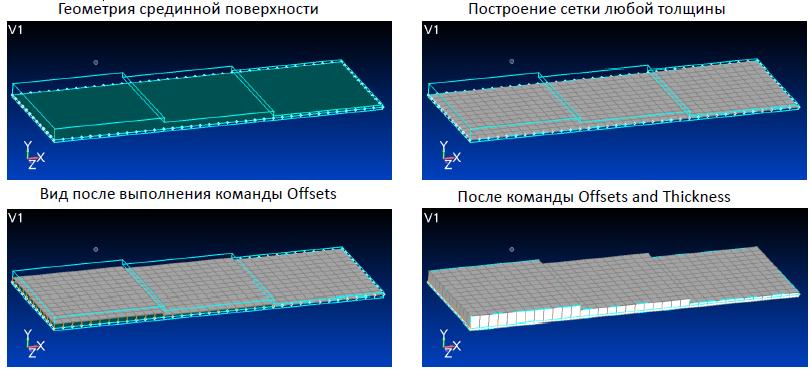 femap, nastran, Автоматическое определение переменных толщин КЭ в Siemens Femap 11.3