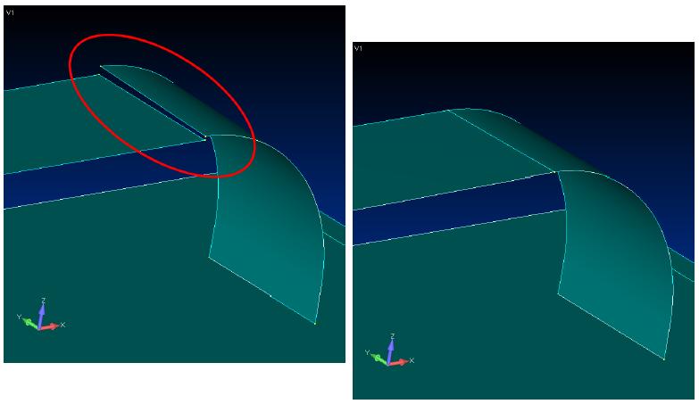 femap, nastran, Интерактивное перемещение геометрических точек вместе с сеткой конечных элементов в Siemens Femap 11.3 с помощью Meshing Toolbox
