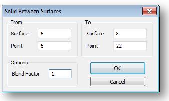 Solid Between Surface в Siemens Femap 11.3, nastran