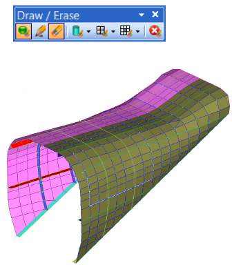 draw erase tool femap 11.3