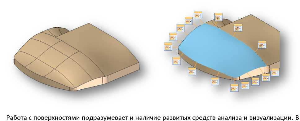 Solid Edge кадис cadis поверхности
