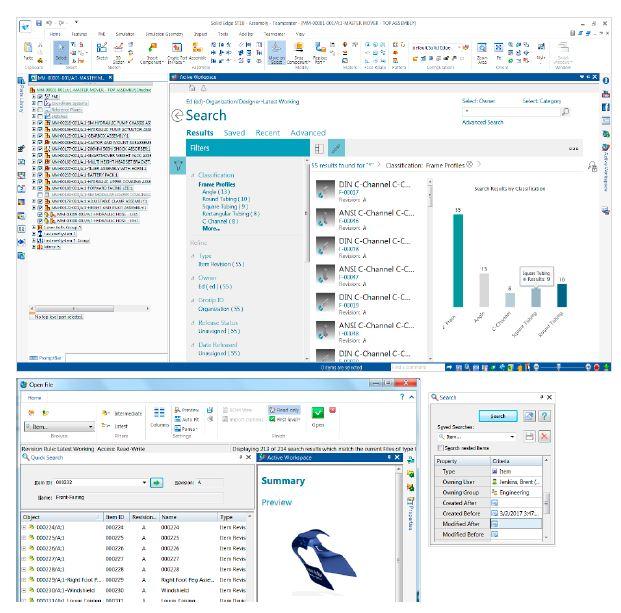 Solid Edge: Встроенное управление данными