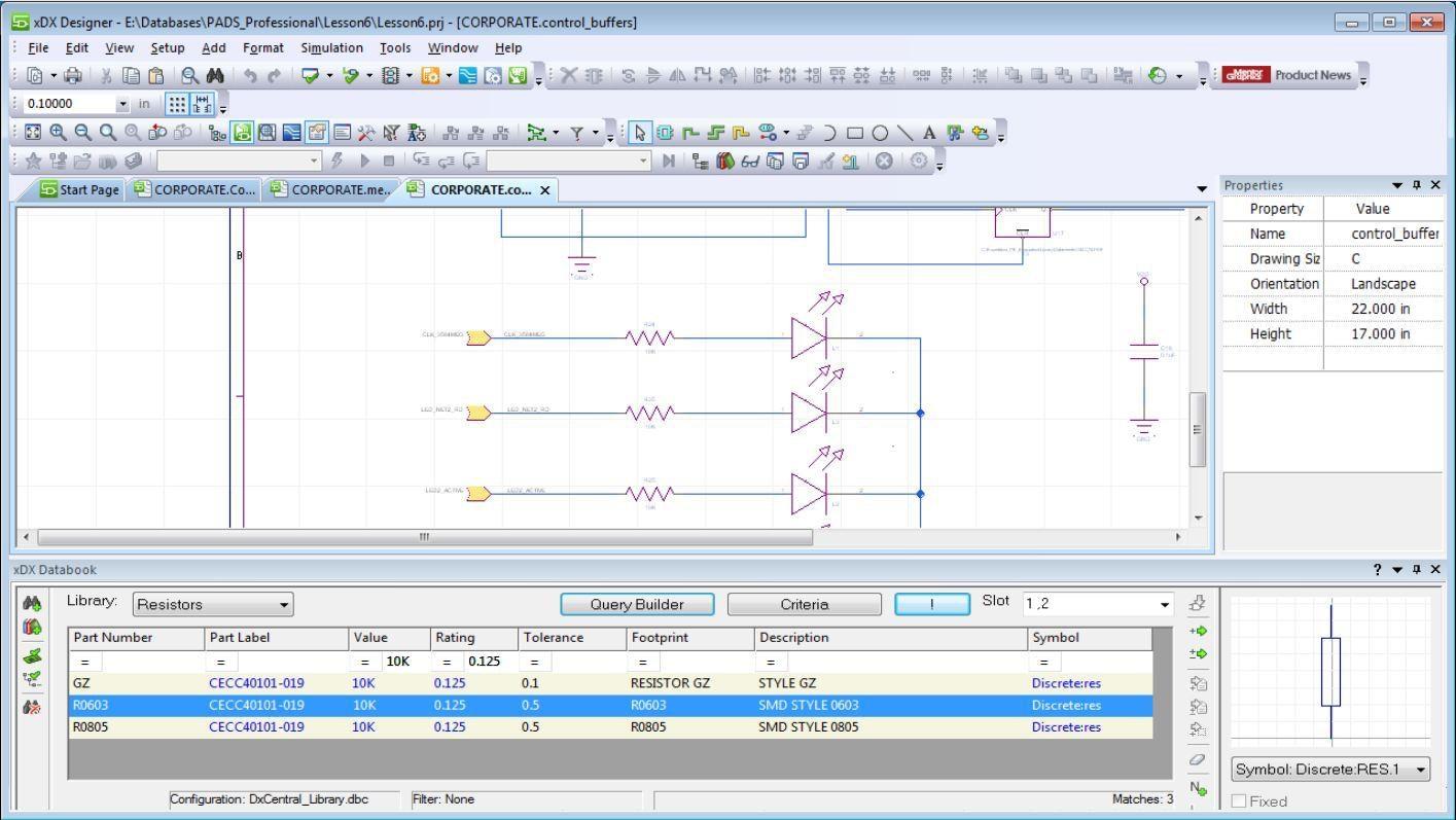 PADS Component Information Management Точное управление параметрами поиска компонентов