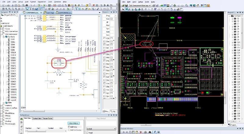 PADS AMS Design Suite смешанное моделирование схем