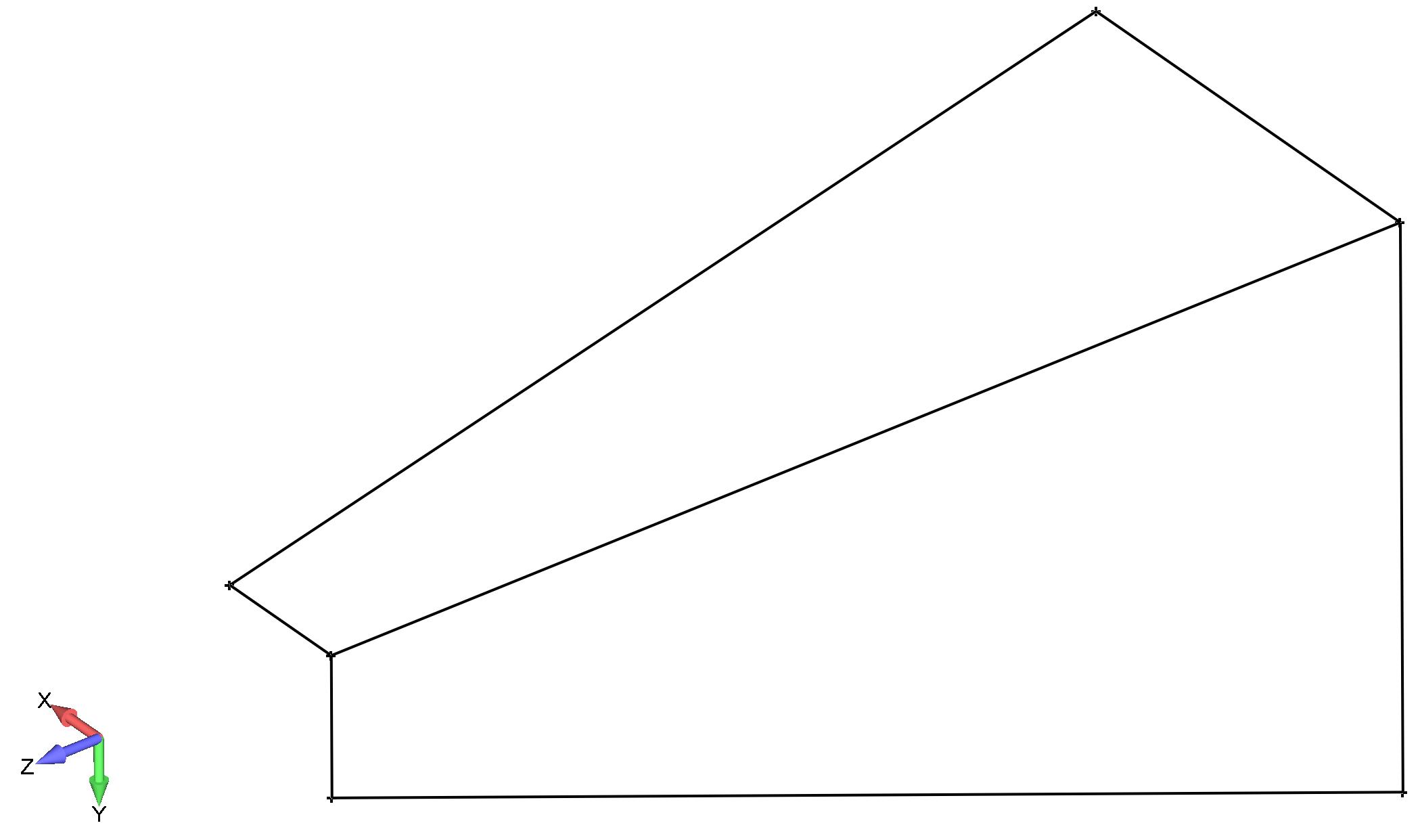 Femap каркас кронштейна