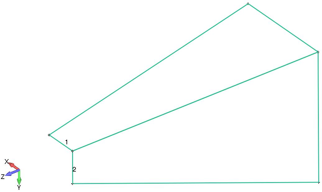 Femap Визуализация граничные поверхности