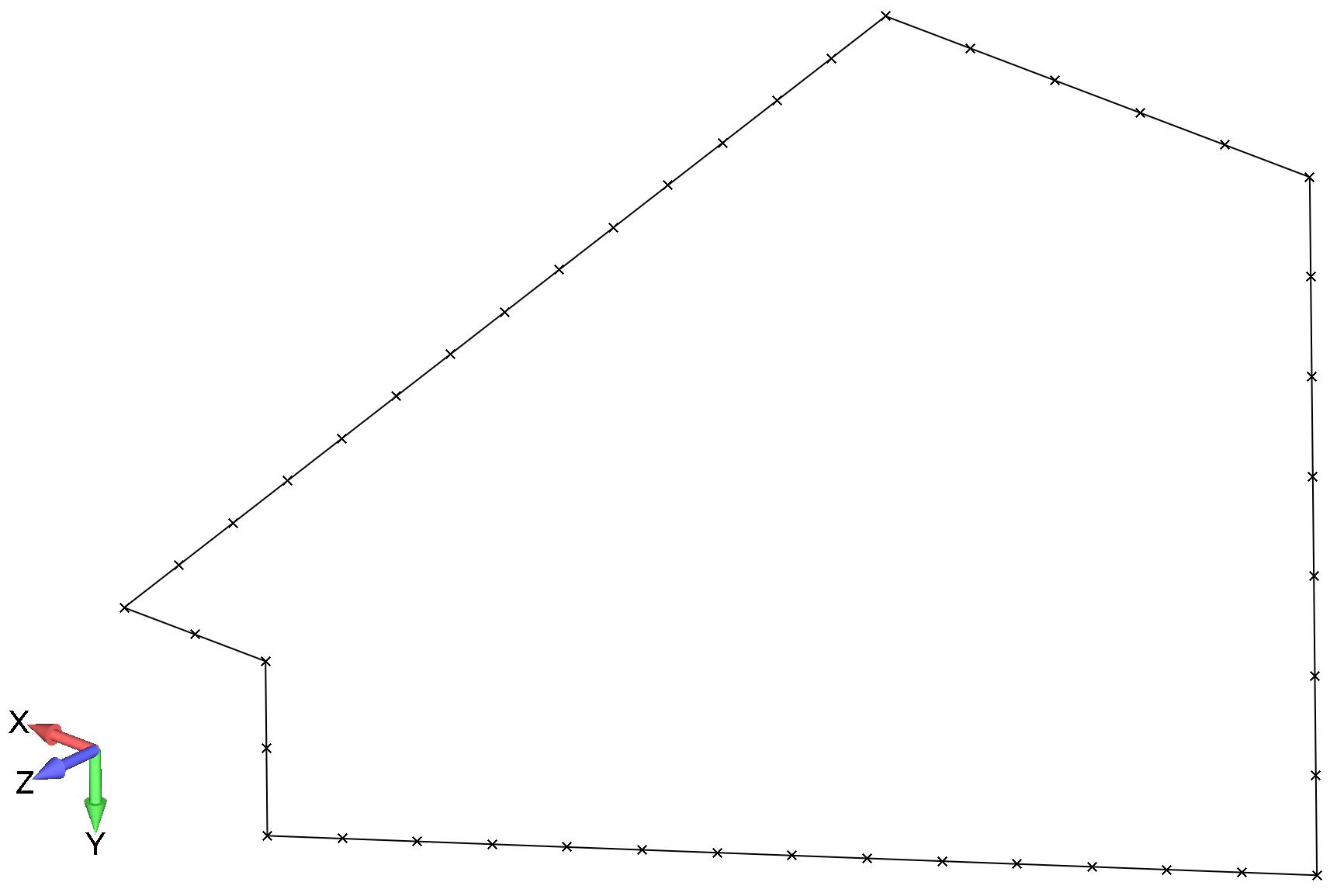 Femap Отображение свободных граней конечных элементов модели после объединения узлов командой
