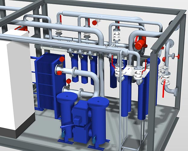 Smap3D Piping это комплексное решение по проектированию предприятий и трубопроводов, отличающееся высокой надежностью процесса проектирования