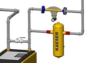 Smap3D Piping автоматически генерирует полную трубопроводную систему в соответствии с требуемыми классами труб