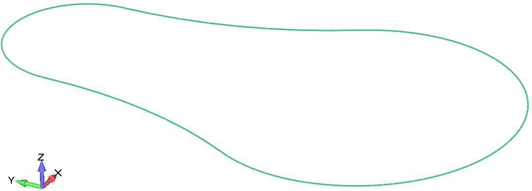 Femap Граничная поверхность Boundary Surface