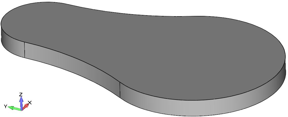 Femap Твердотельная деталь (Solid)