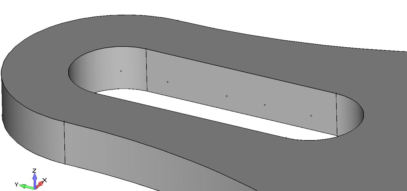 Femap NX Nastran Создание паза для шпонки с помощью команды Geometry, Solid, Extrude