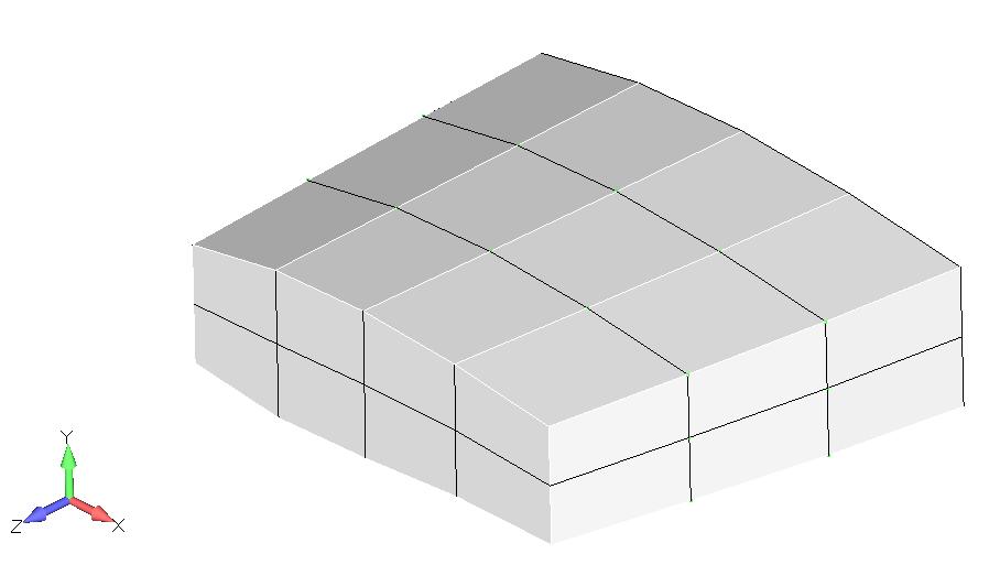 Femap NX Nastran отображение слоев
