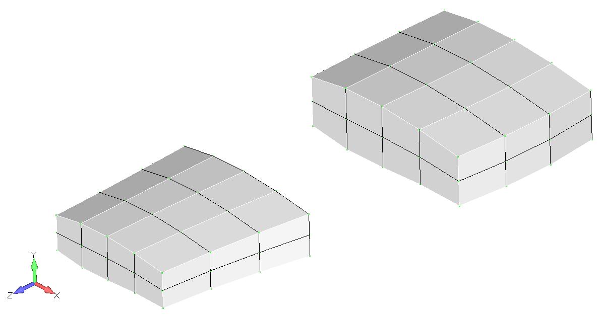 Femap NX Nastran Выбор любого количество слоев с помощью клавиш Ctrl или Shift в дереве проекта Model Info