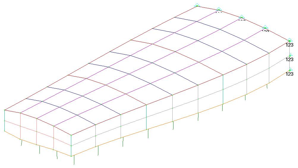 Femap NX Nastran вращение модели, настройка вида View Options