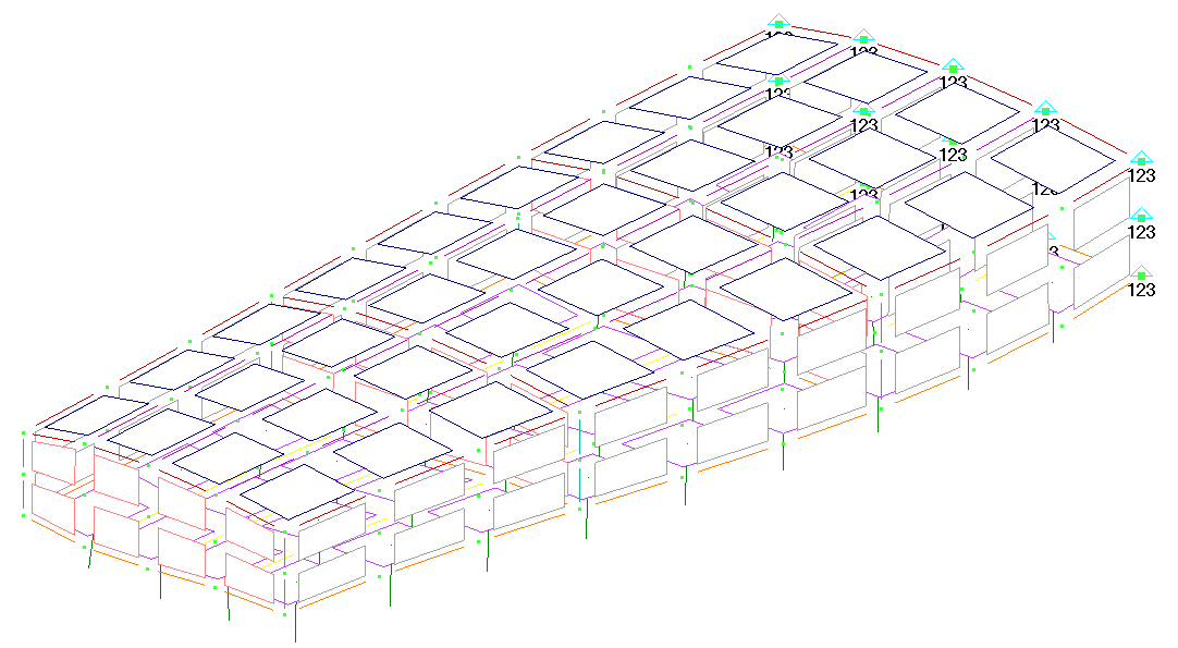 Femap NX Nastran отображение элементов Shrink Elements