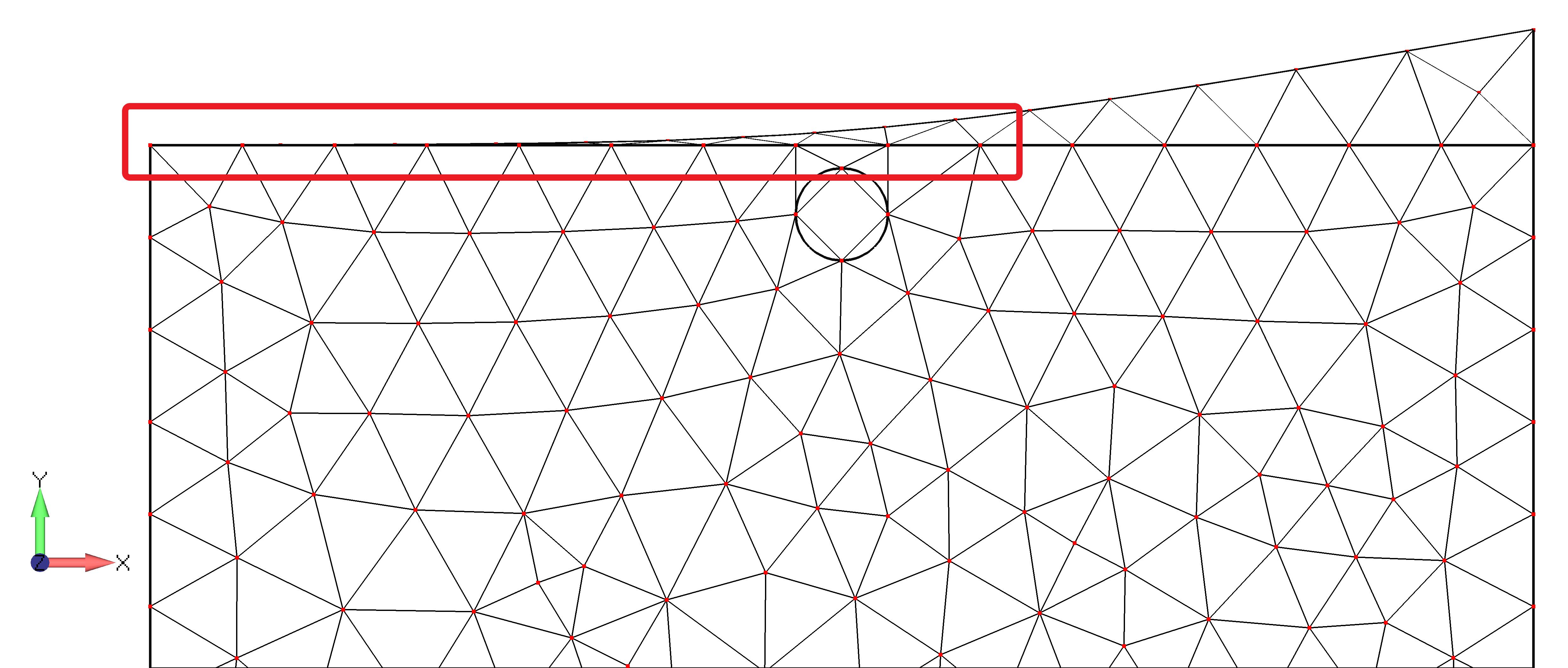 Femap NX Nastran объединение смежных поверхностей