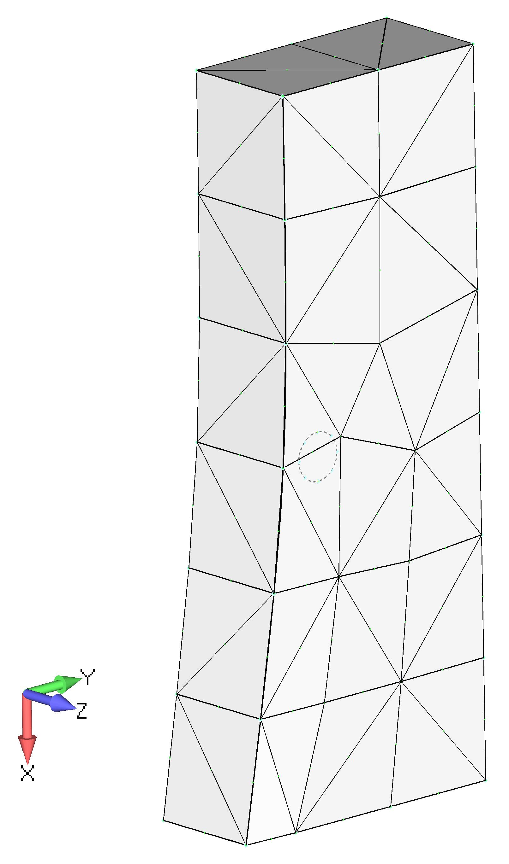 Femap NX Nastran Создание сетки