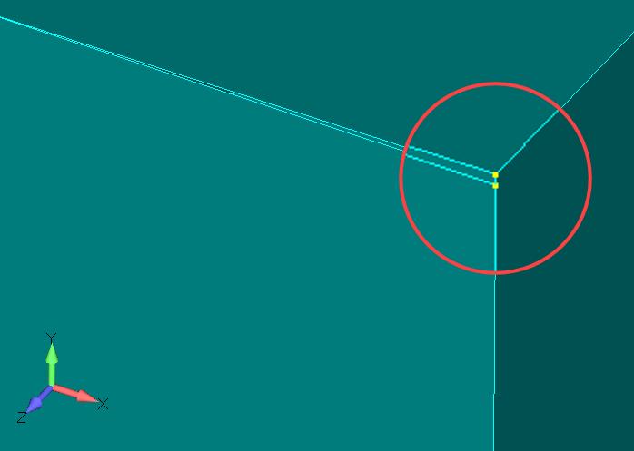 Femap NX Nastran Восстановление испорченной геометрии для создания объемной сетки