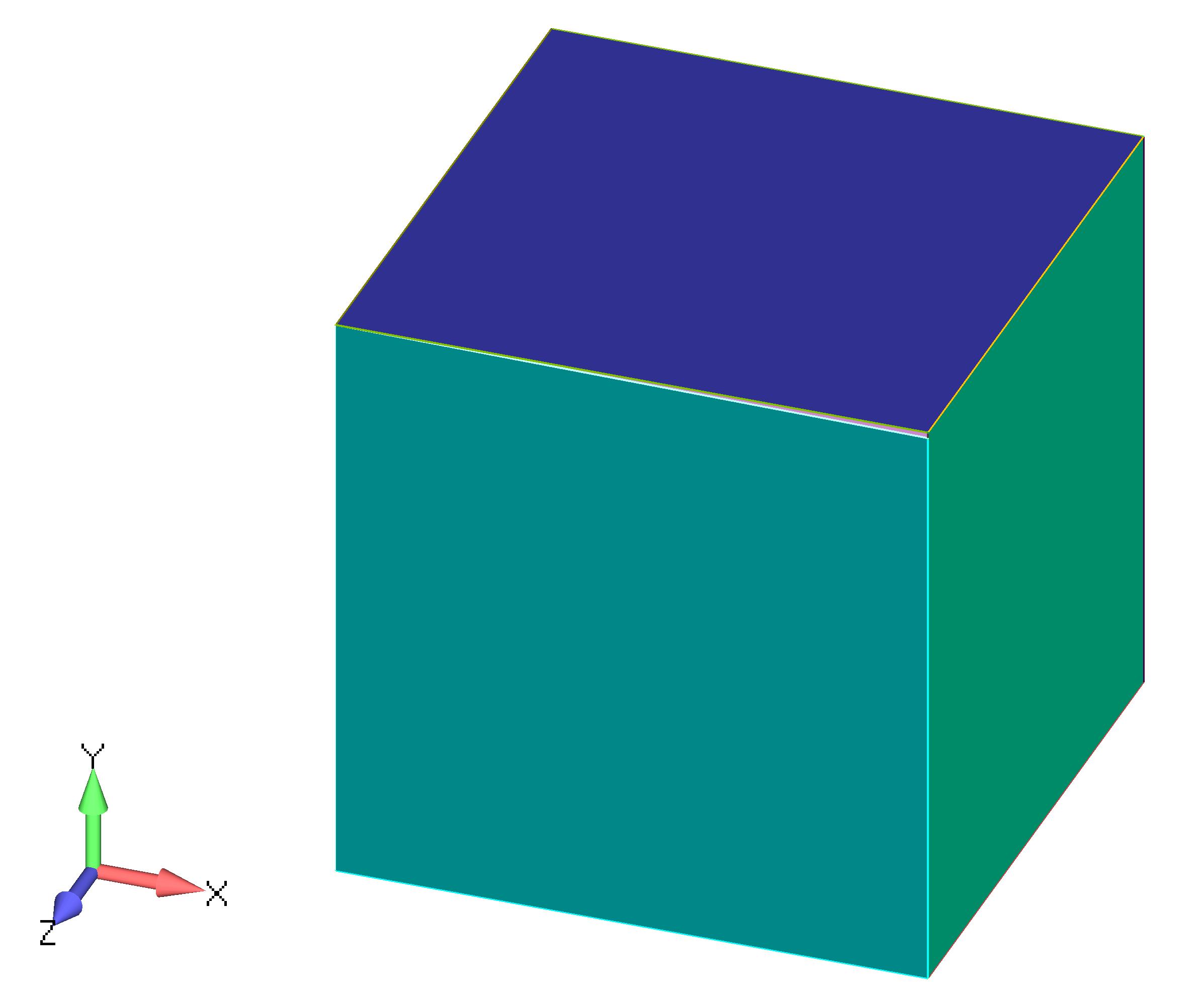 Femap NX Nastran импортирование геометрии