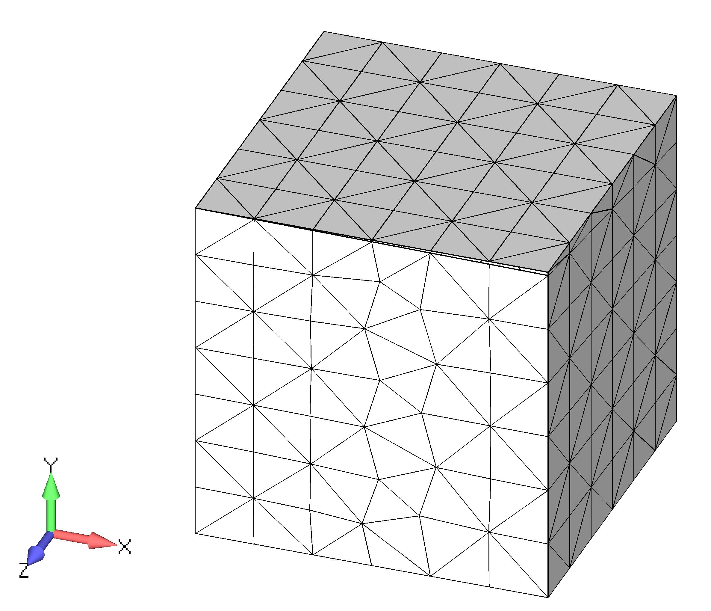 Femap NX Nastran создание объемной сетки