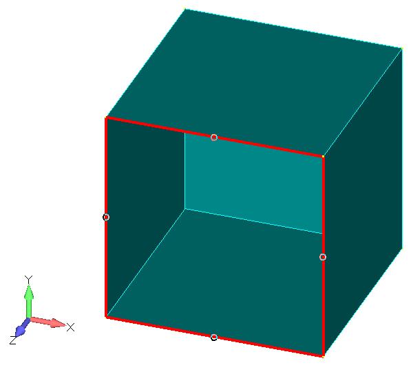 Femap NX Nastran очистка геометрии