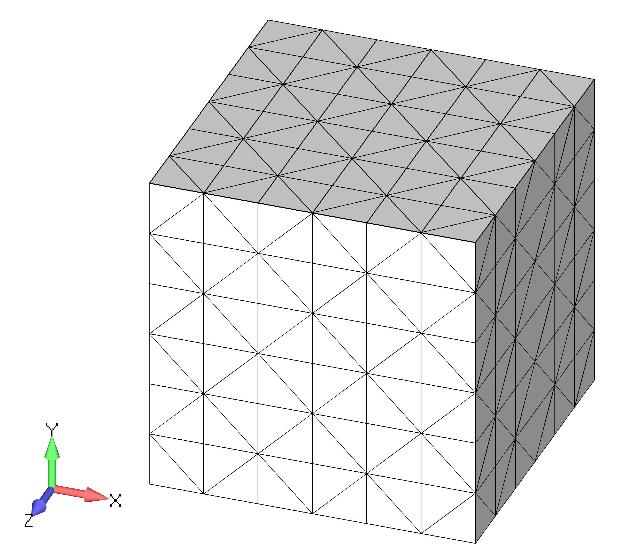 Femap NX Nastran Создание объемной сетки твердого тела