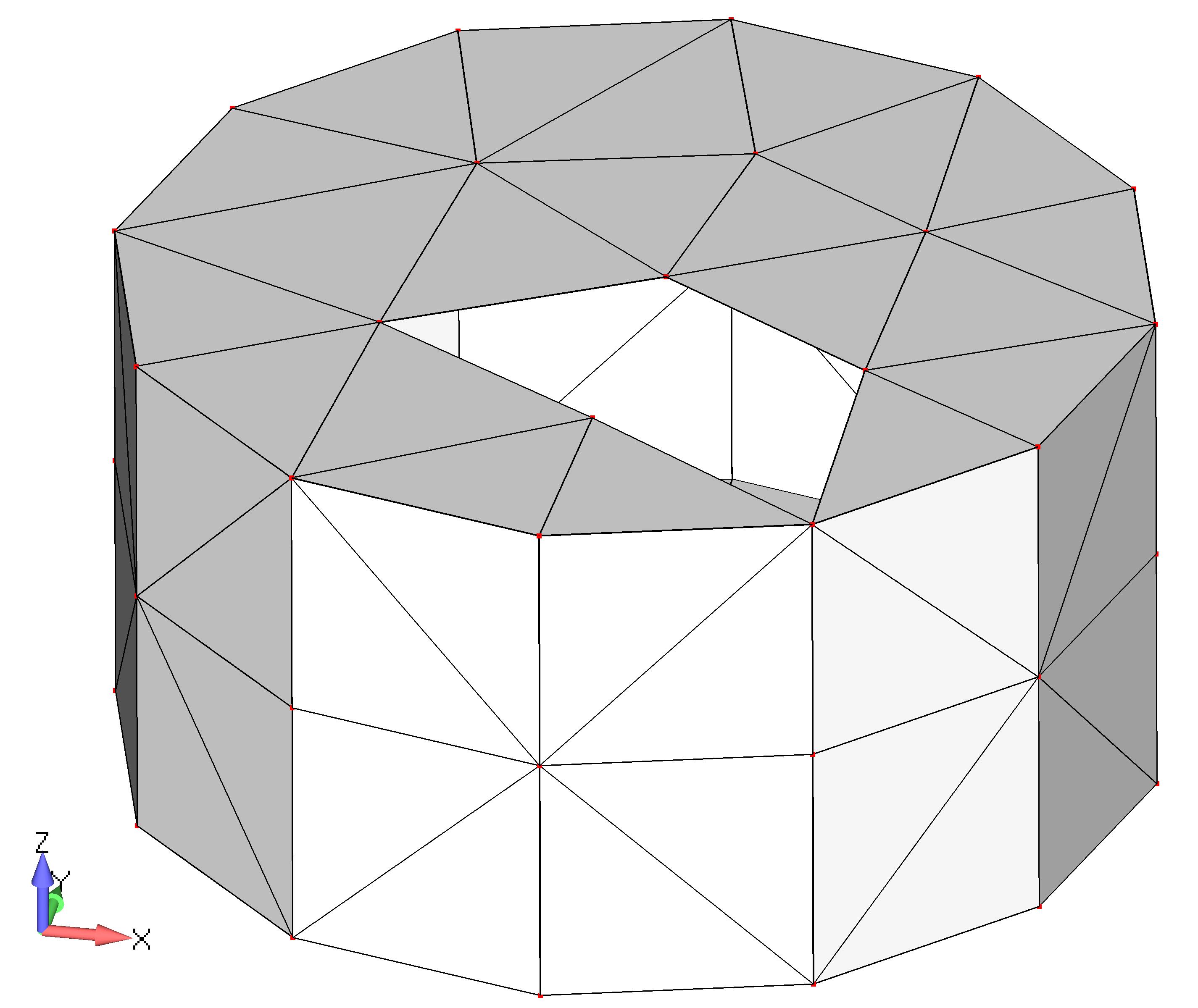 Femap NX Nastran Визуализация свободных ребер (Free Edge) элементов, для поиска дефектов в сетке