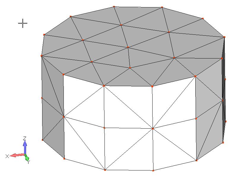 Femap NX Nastran Создание новых плоских элементов