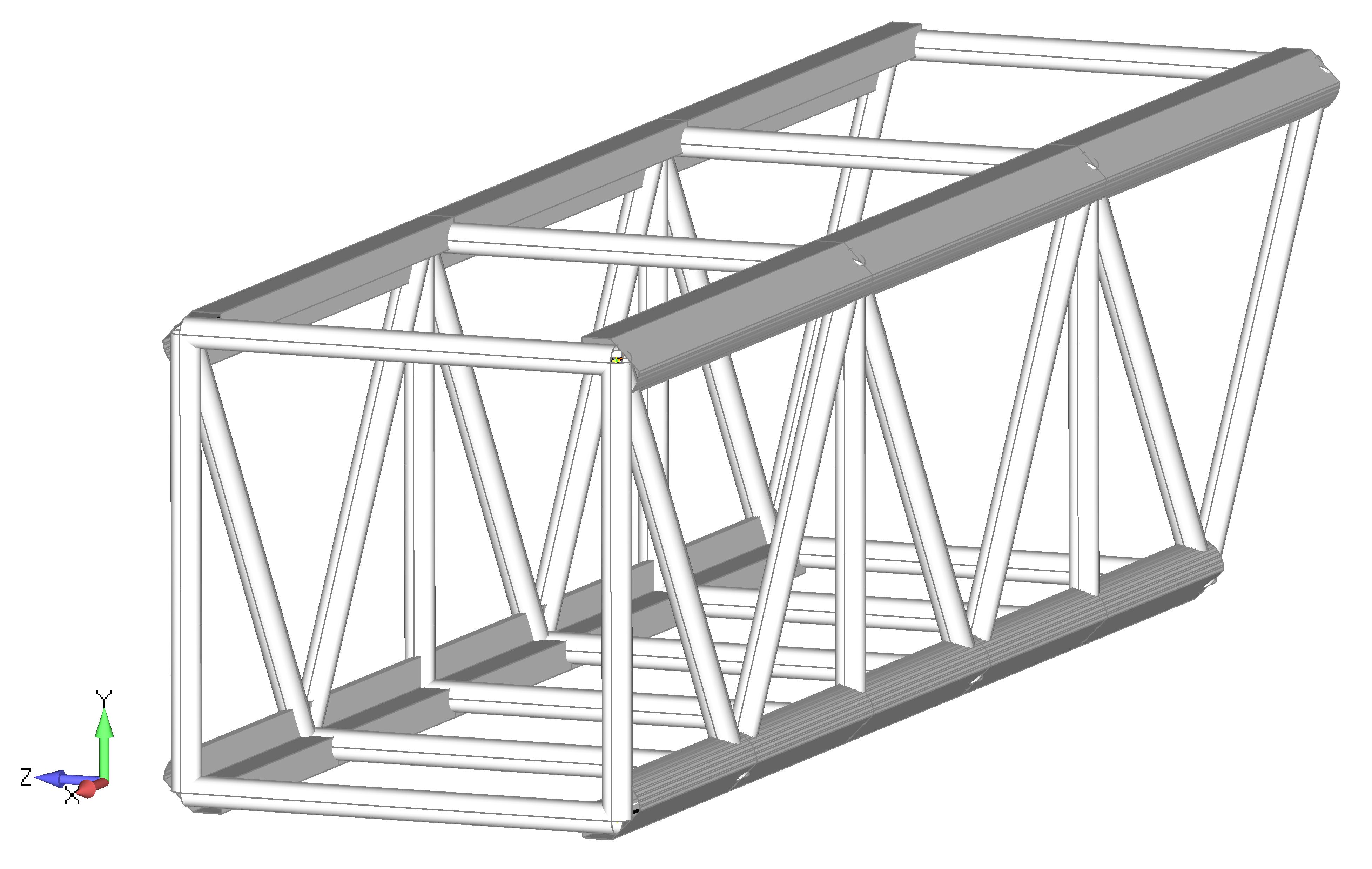 Femap NX Nastran Создание стержневых элементов Rod