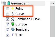 Femap NX Nastran отображение геометрии и меток