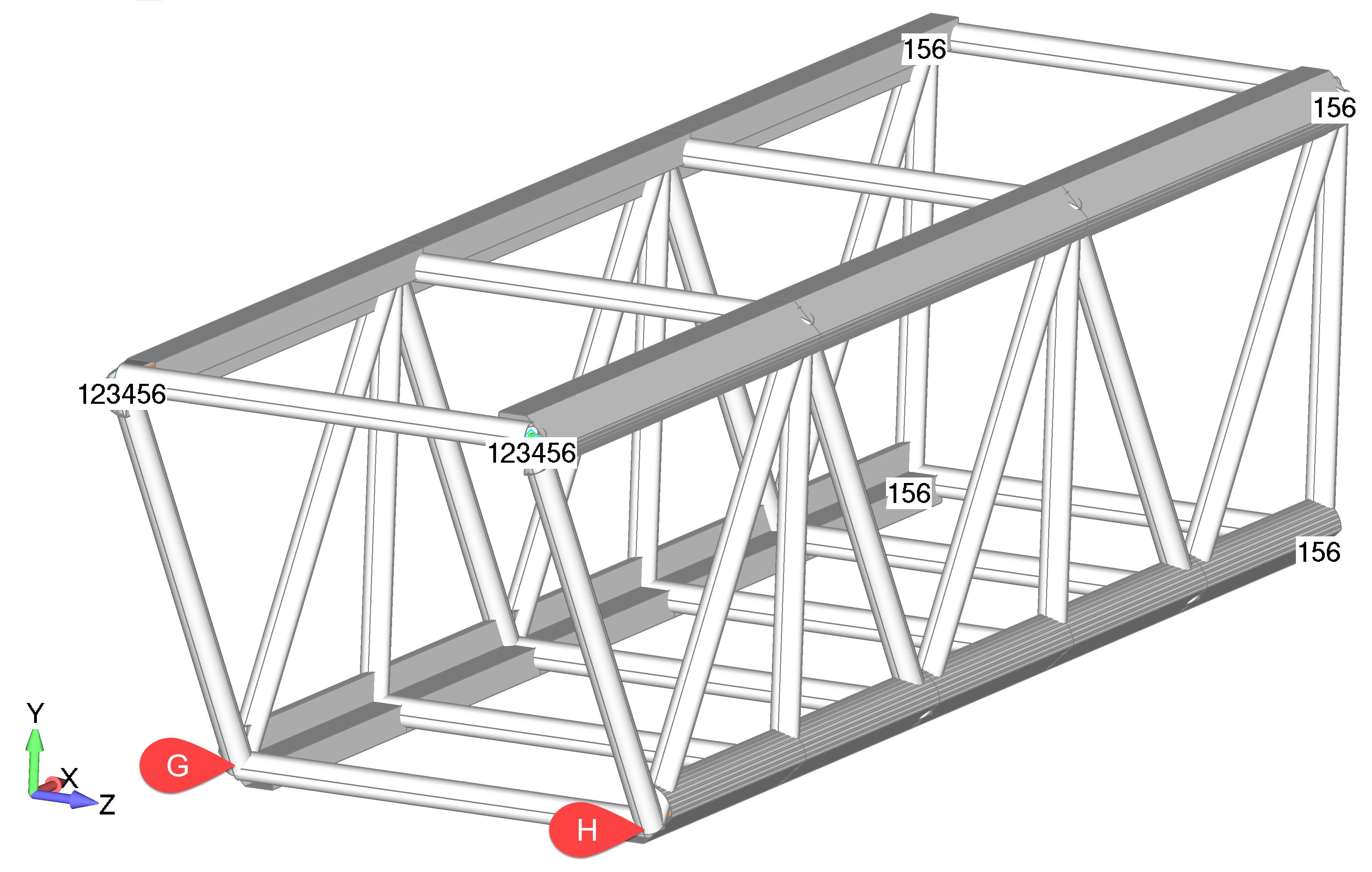 Femap NX Nastran Моделирование симметрии и фиксация модели