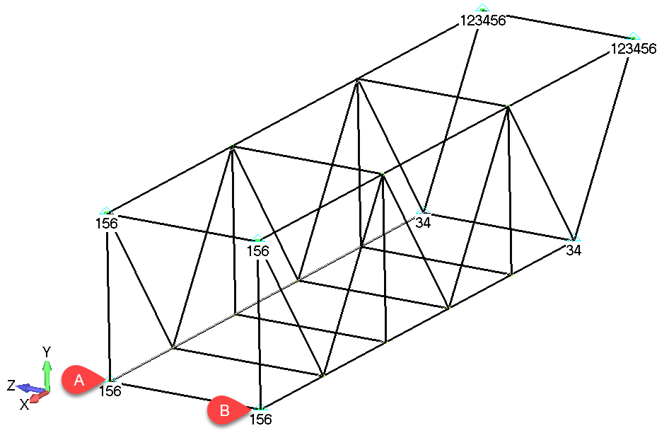 Femap NX Nastran Приложение нагрузок к модели