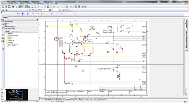 Smap3D P&ID: создание интеллектуальной схемы трубопроводов