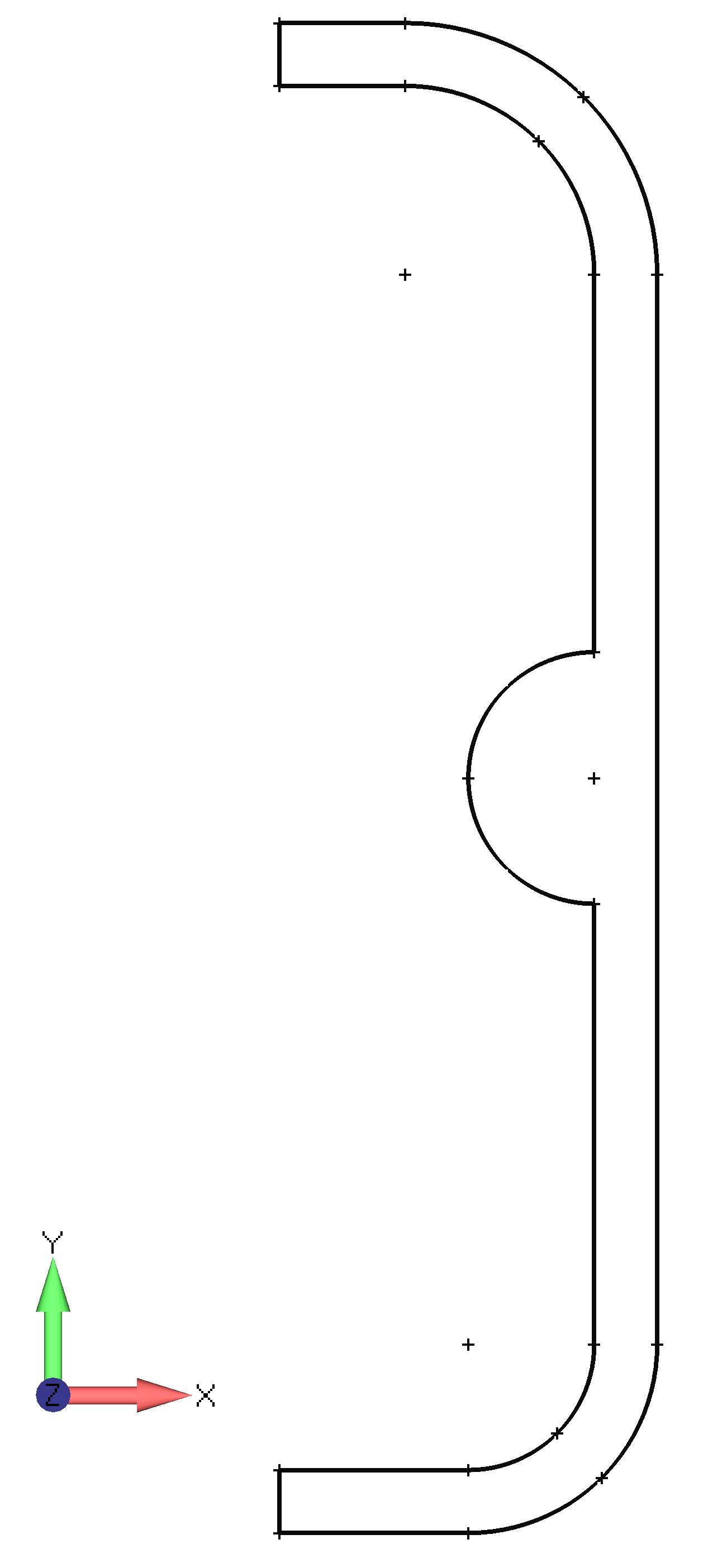 Femap NX Nastran импорт геометрии в формате DXF