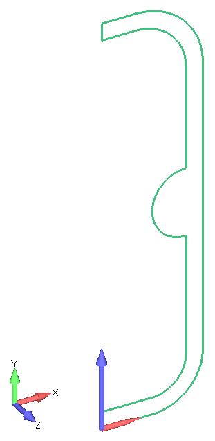 Femap NX Nastran создание сетки на граничной поверхности