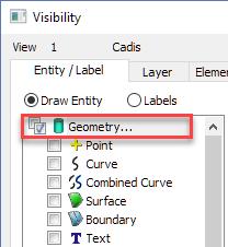 Femap NX Nastran разбиения поверхности на треугольные осесимметричные элементы