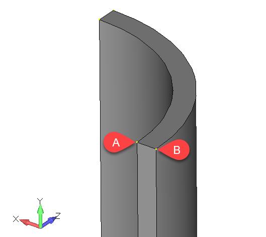 Femap NX Nastran построение серединной поверхности