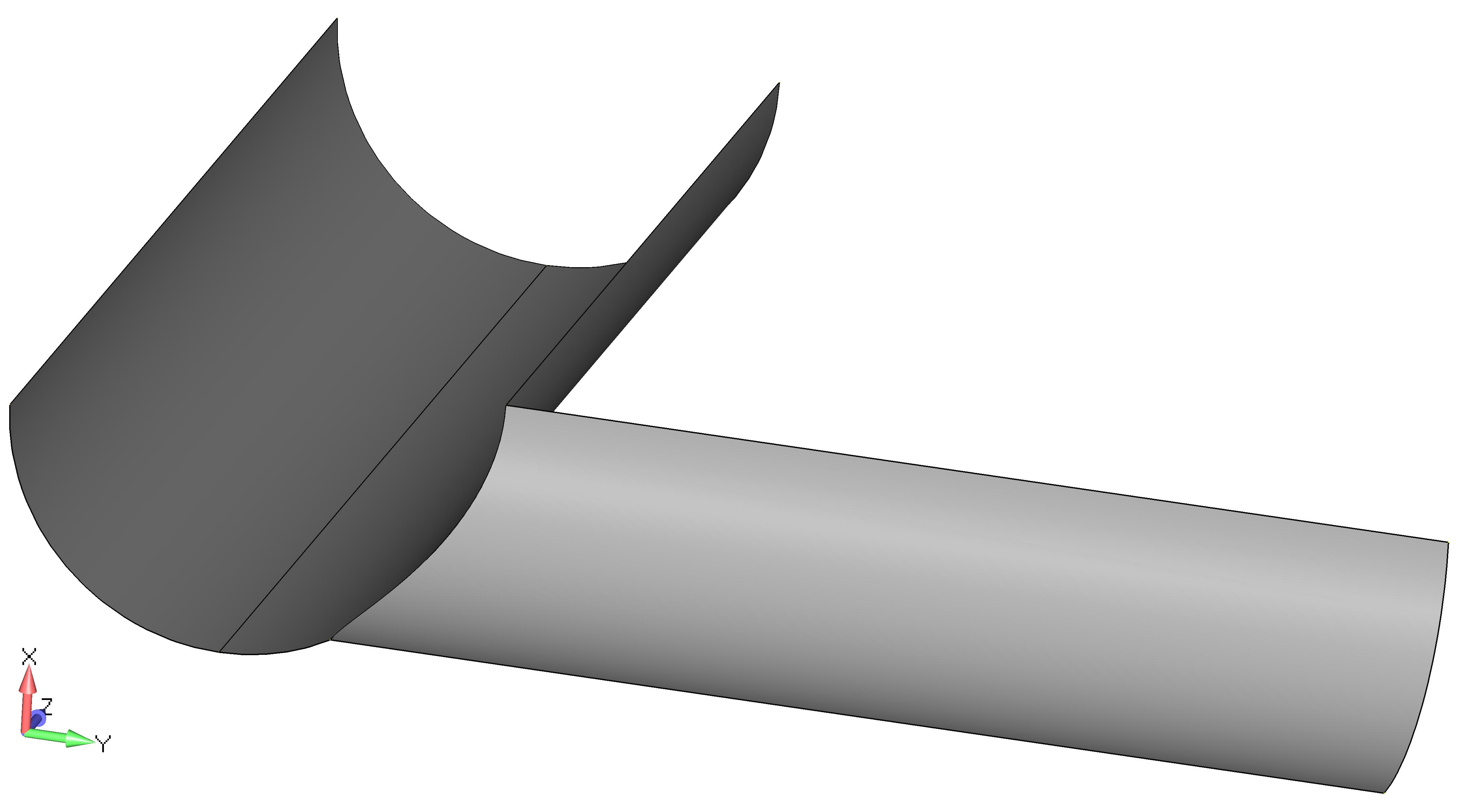 Femap NX Nastran Удаление твердотельной геометрии
