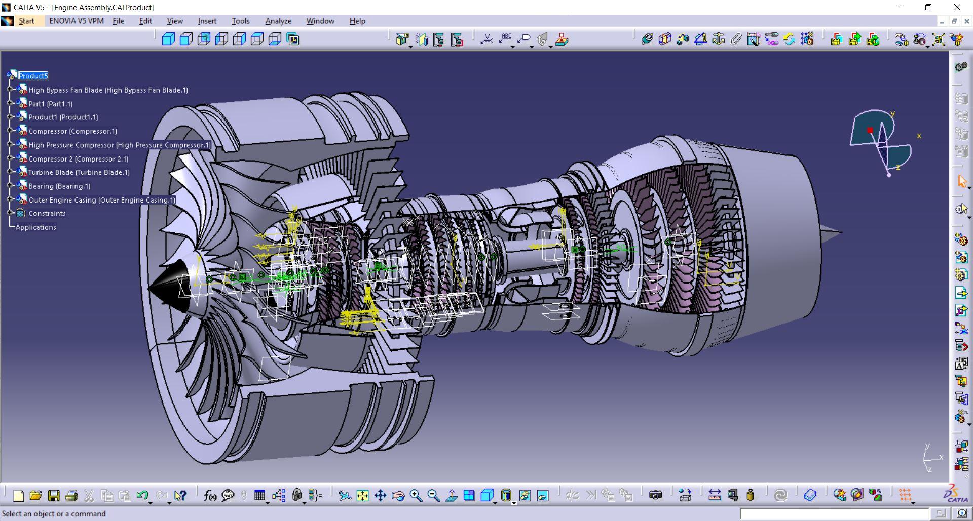 Прямой транслятор геометрических данных из CAD-системы Catia V5 в Femap