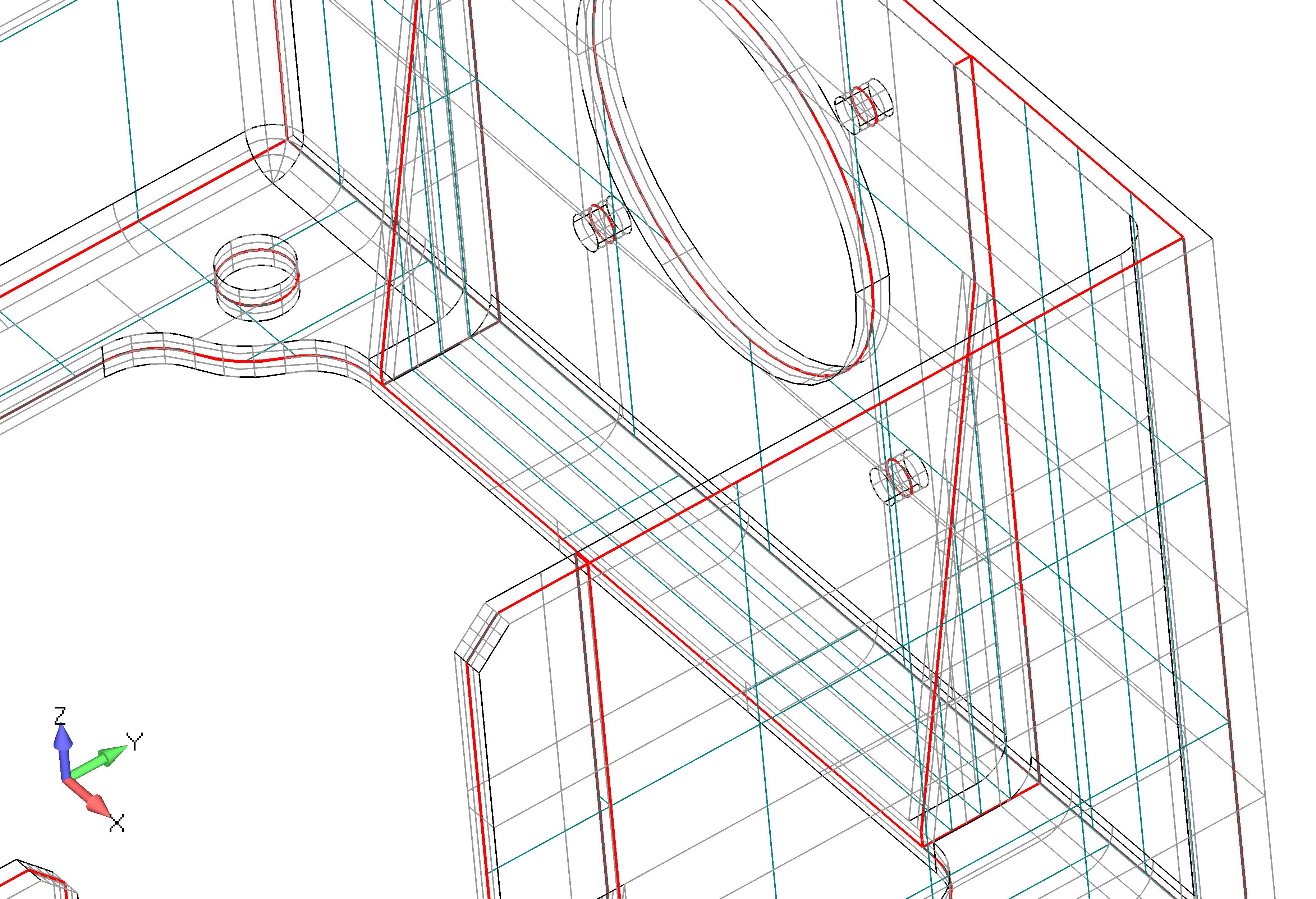 Femap 12 NX Nastran автоматическое построение серединных поверхностей