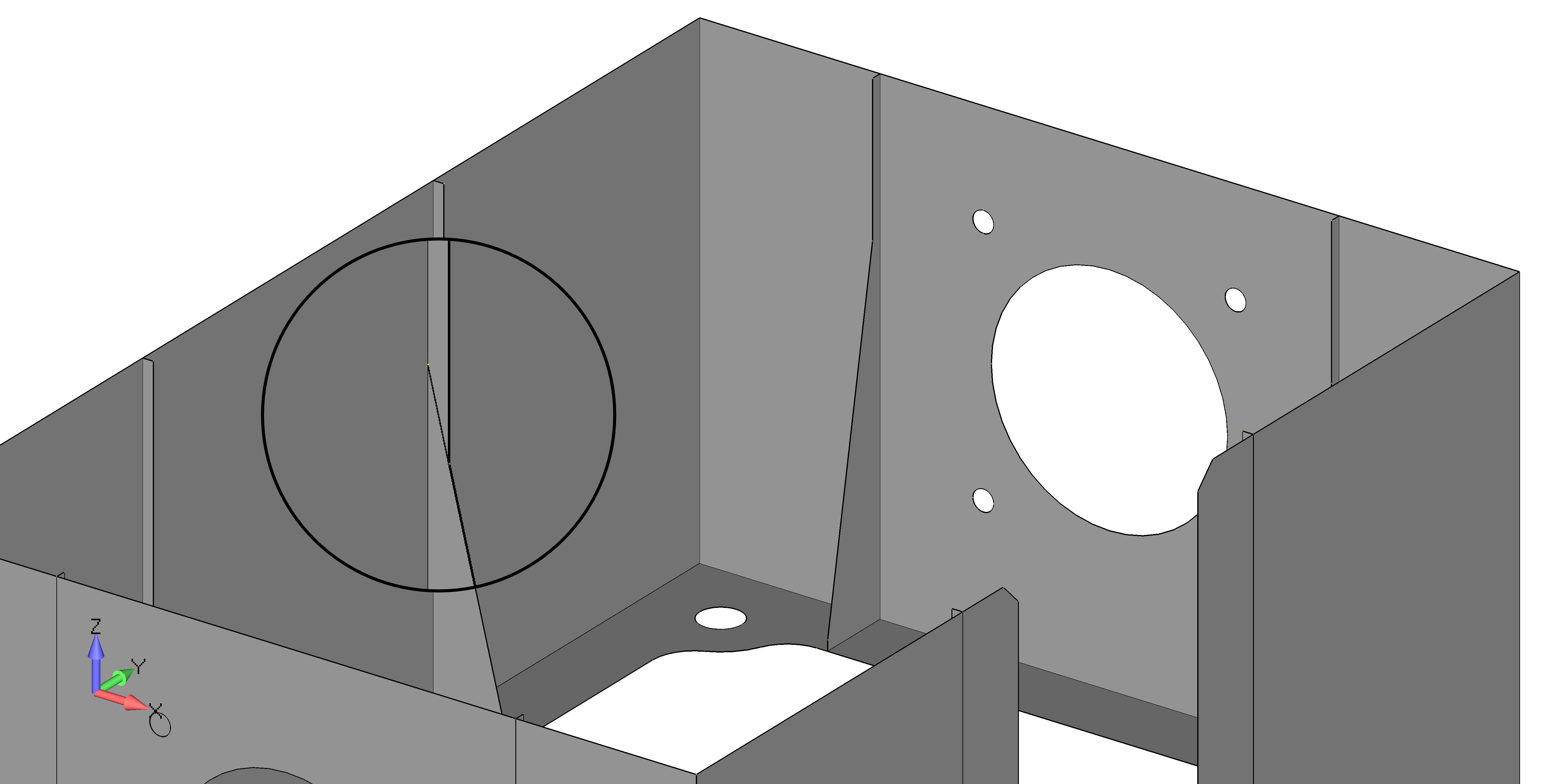 Femap 12 NX Nastran очистка геометрии