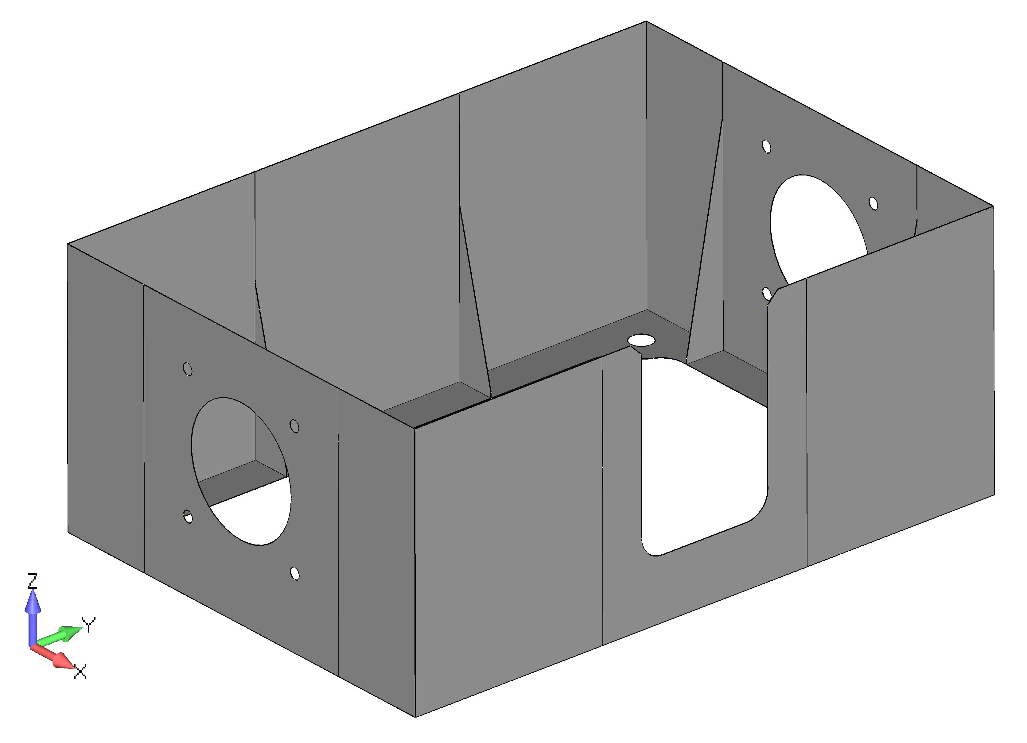 Femap 12 NX Nastran очистка геометрии CADIS