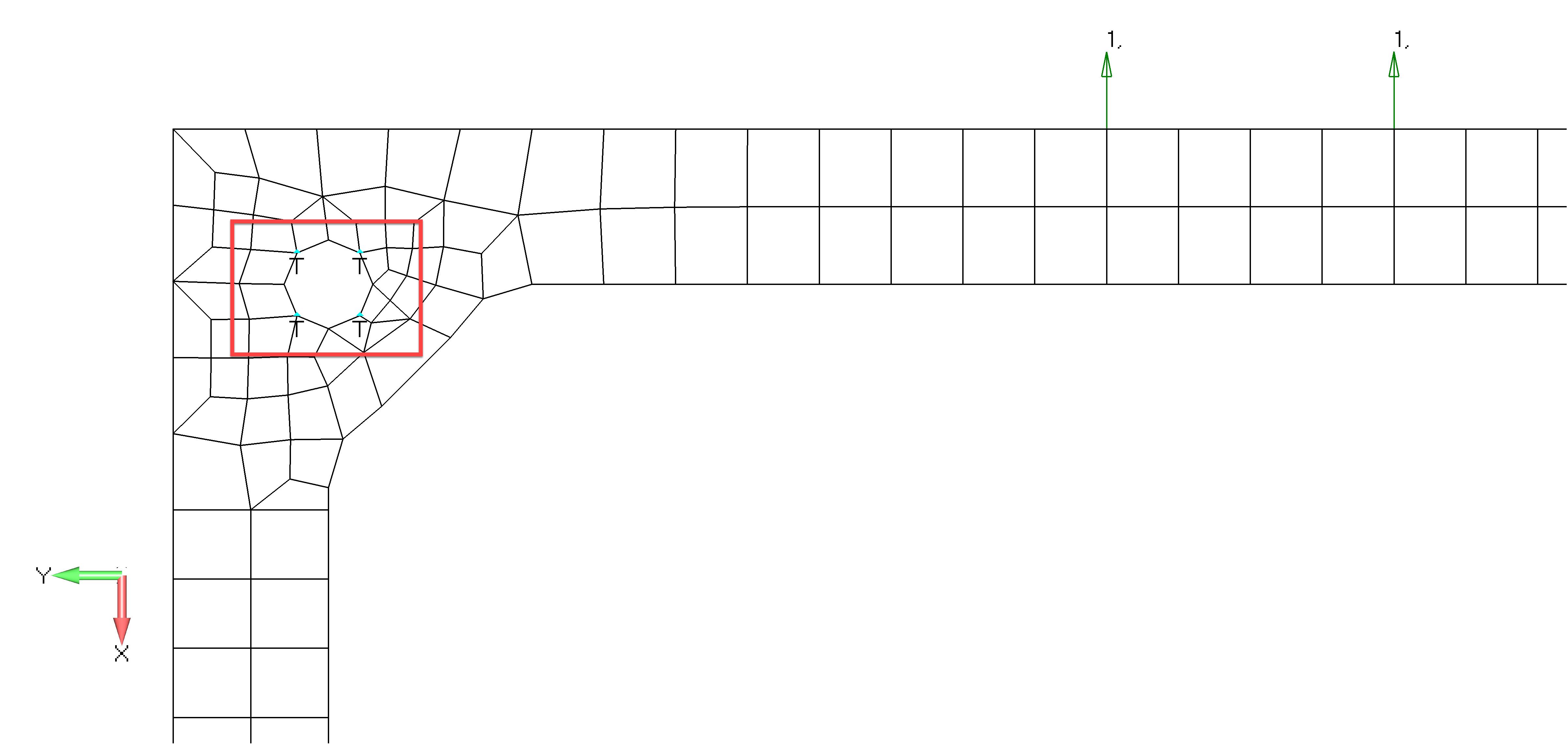 Femap 12 NX Nastran Задайте закрепление по периметру отверстий