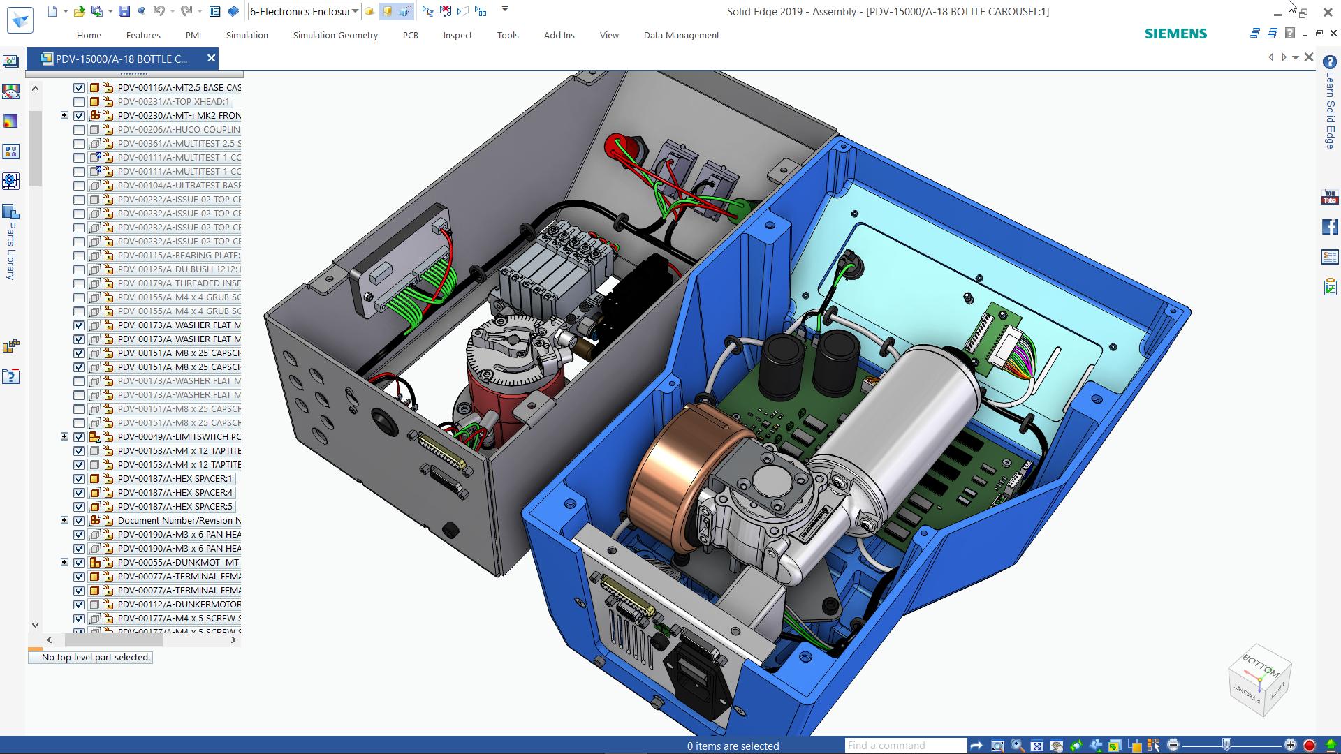 Solid Edge Electrical Design: Проектирование электропроводки