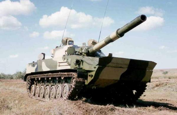 кадис cadis ВГтЗ спрут самоходная противотанковая пушка СПТП 2С25 спрут-сд