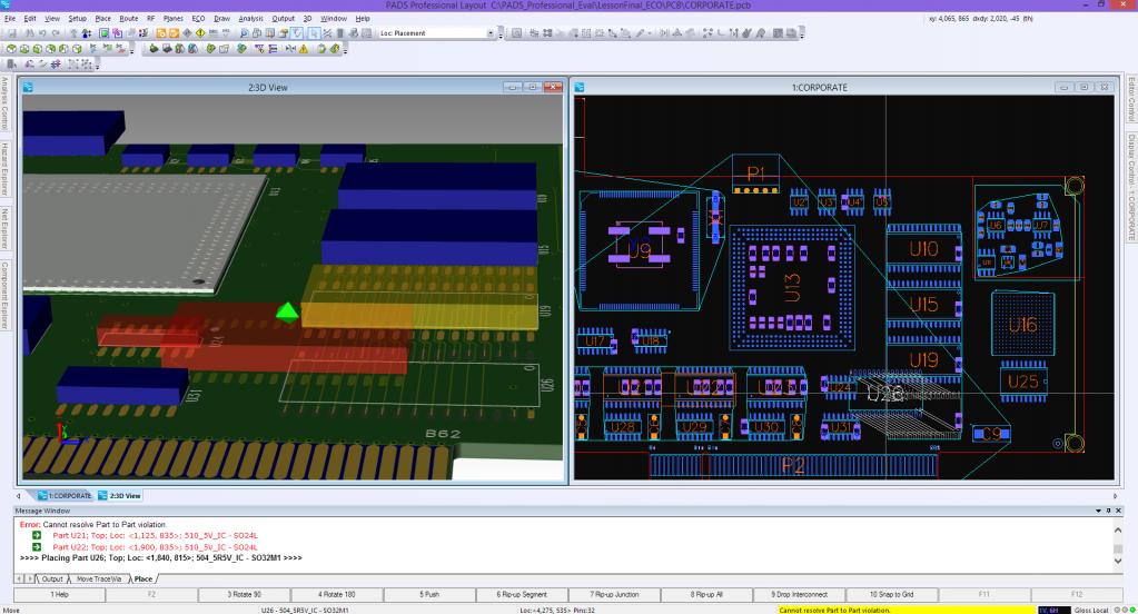 PADS Professional: Проверка зазоров в 3D-режиме экономит время