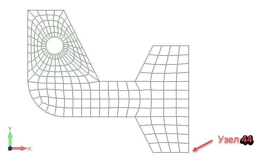 Femap 12 NX Nastran Создание изменяющейся во времени нагрузки