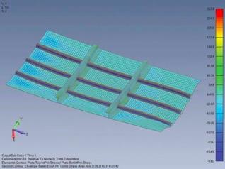 Femap12 многошаговые нелинейные решения SOL401, SOL402